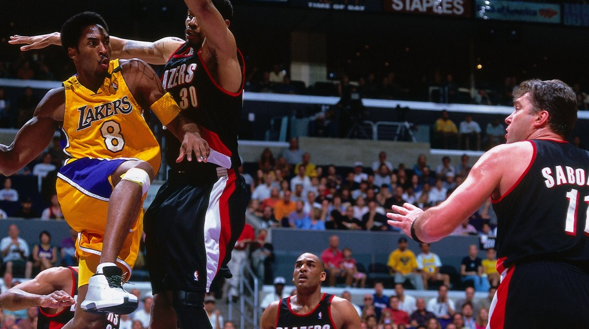 Blazers @ Lakers -- 2000 Western Conference Finals Game 7